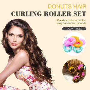 Donuts Hair Curling Roller Set
