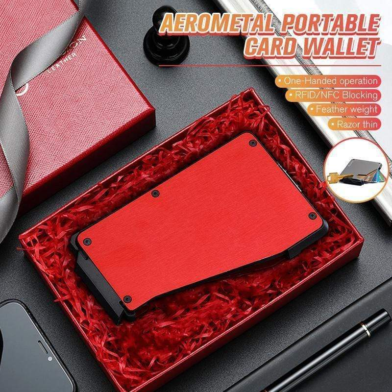 Aerometal Portable Card Wallet