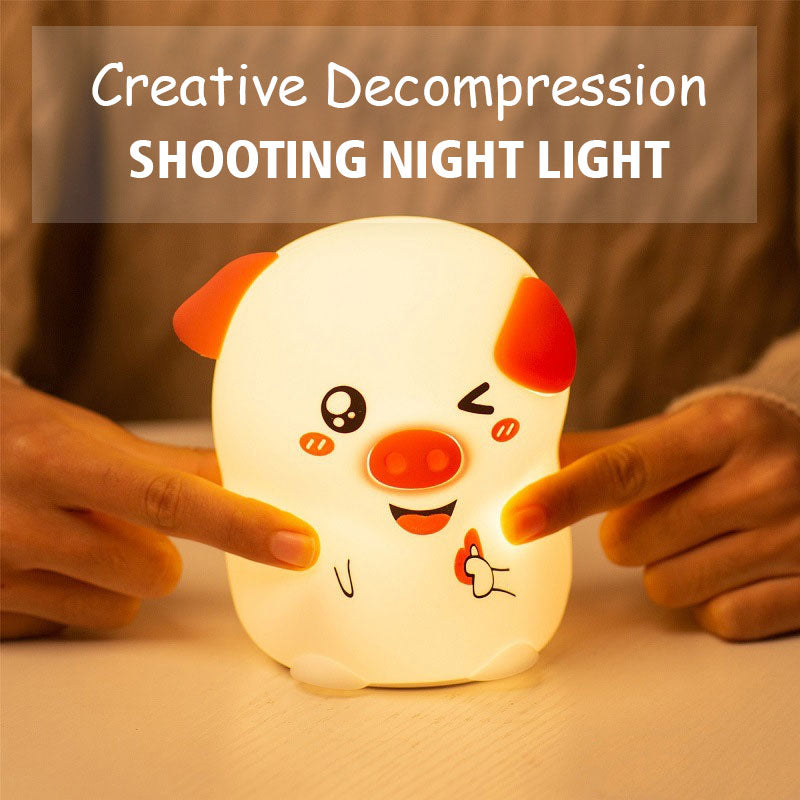 Creative Decompression Shooting Night Light