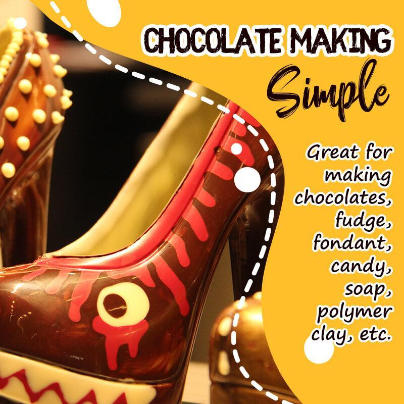 Chocolate High Heels Shoe Mold