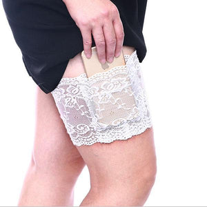 French Lace Cell Phone Garter