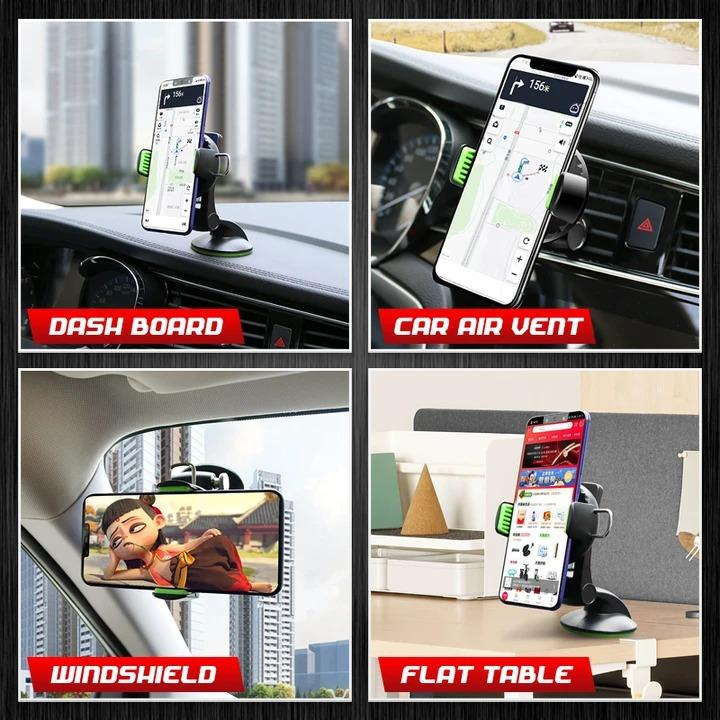 Adjustable Car Suction Cup Phone Holder