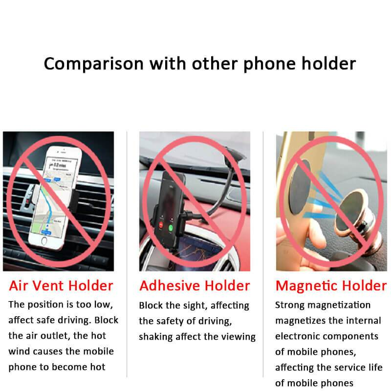 Car Mount Rotatable Phone Holder