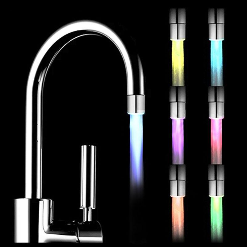 Temperature Controlled Three Color Faucet