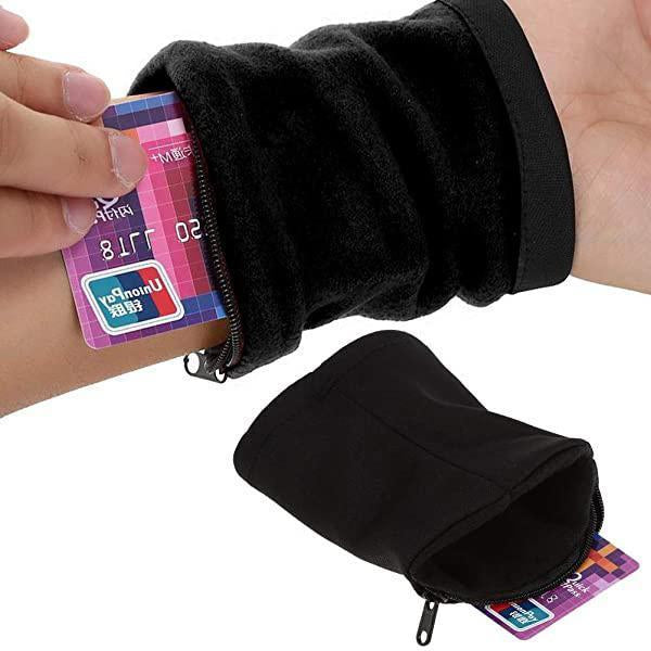 Zipper Wristband Wallet