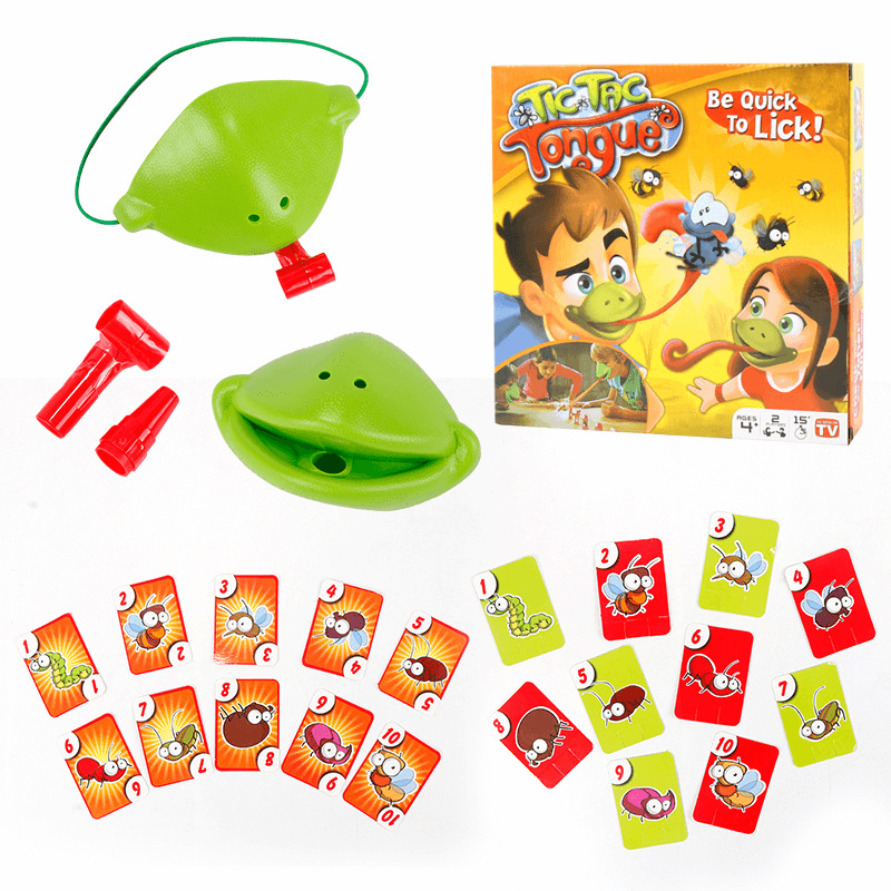 Frog Mask Reaction Learing Toy