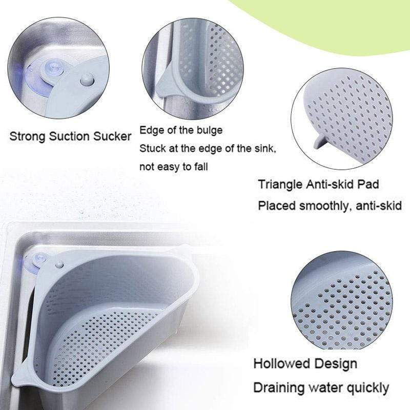 Multifunctional Drain Shelf (Kitchen's Best Assistant)