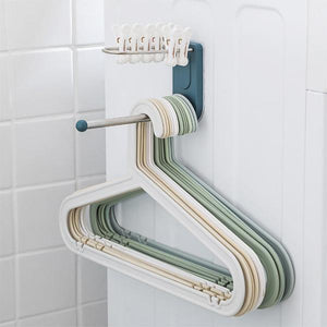 Wall Mounted Clothes Hanger Organizer