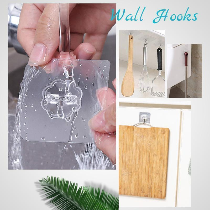 Nano Magic Wall Hooks