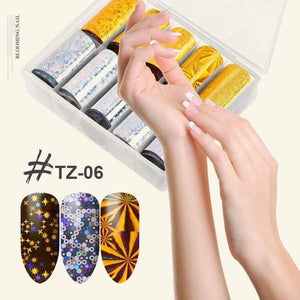 Color Starry Nail Stickers