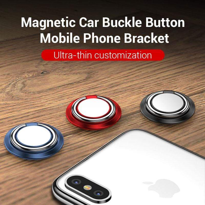 Magnetic Car Buckle Button Mobile Phone Bracket