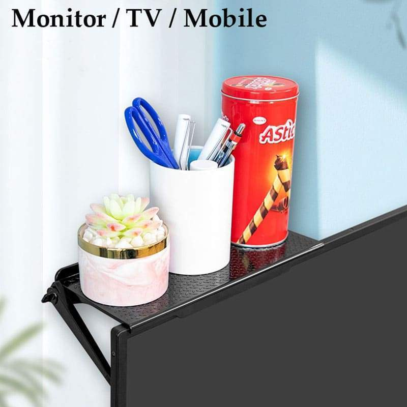 Monitor Topper Storage Rack