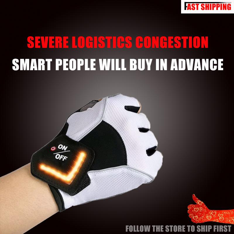 LED Turn Signal Cycling Gloves(1 Pair)
