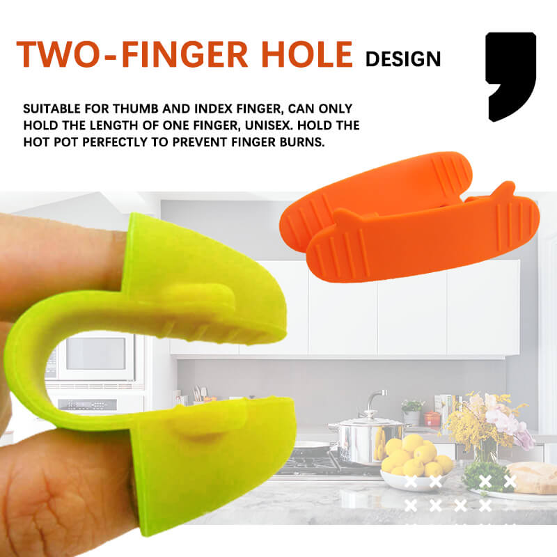 Silicone Heat Insulation Finger Clip