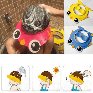 Baby Adjustable Protection Bathing Cap