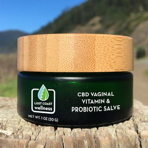 CBD Vaginal Vitamin & Probiotic Salve
