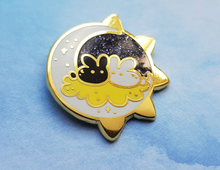 Load image into Gallery viewer, Cosmic Bunnies - Gold / Silver - Jelly Kat Studio