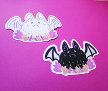 Load image into Gallery viewer, Fluffy Bat Stickers - Jelly Kat Studio