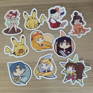 Mystery Sticker Pack (Set of 3)