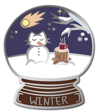 Load image into Gallery viewer, Kitty Globes - Winter