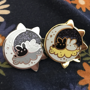 Cosmic Bunnies - Gold / Silver - Jelly Kat Studio