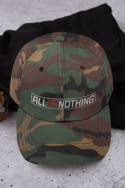 All Or Nothing Hat Camo - Boxing Highs