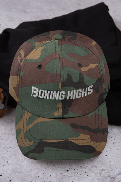 Signature Lightning Hat Camo - Boxing Highs