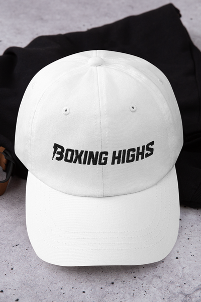 Signature Lightning Hat White - Boxing Highs