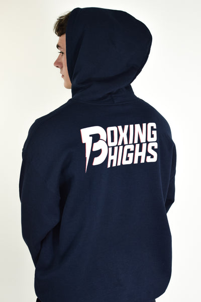 Double Line Hoodie - Boxing Highs