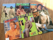 Magazine Gay *4 different covers