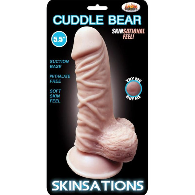 Skinsations Cuddle Bear 5.5 in
