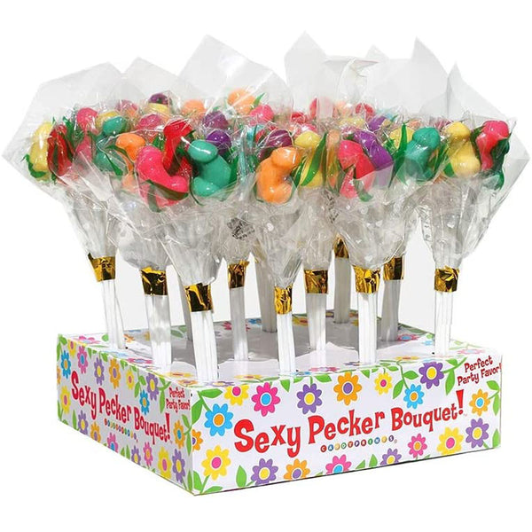 Candy Penis Bouquet Display 12 bunches *