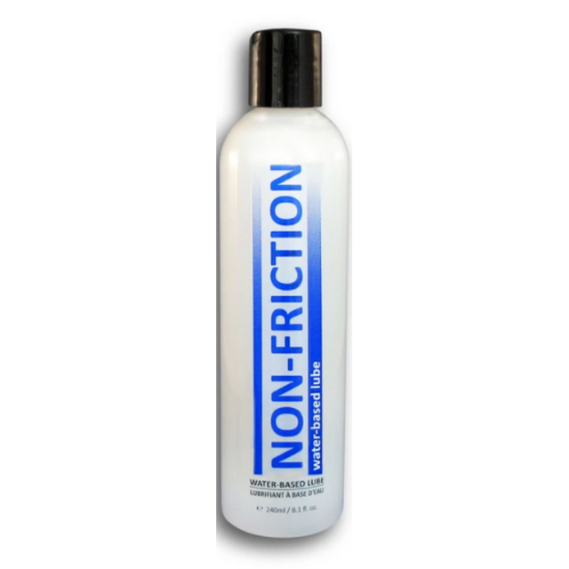 Non-Friction Water Based Lube 8 oz