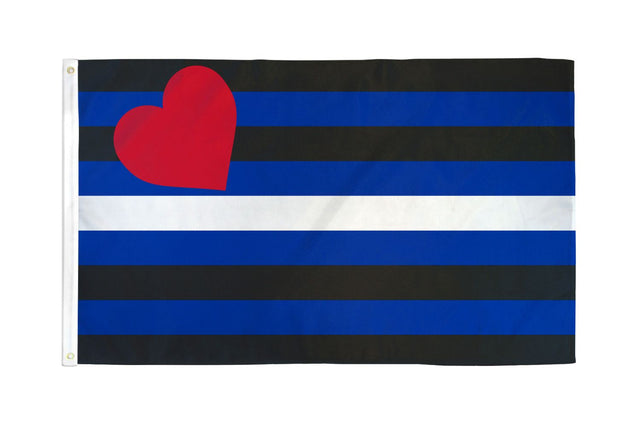 Leather Flag 3' X 5' Polyester