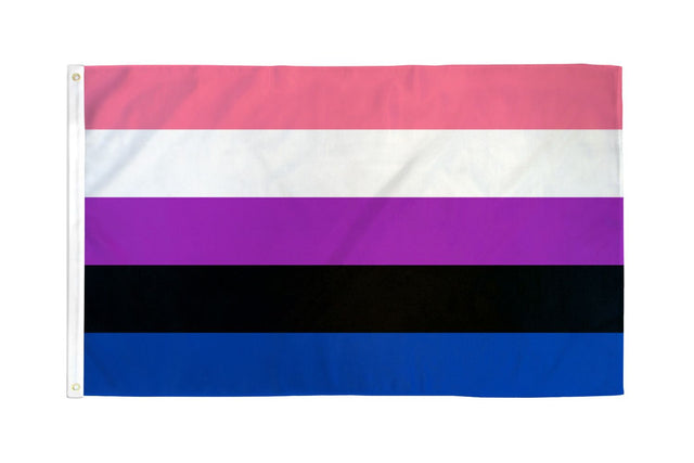 Gender Fluid Flag 3' X 5' Polyester