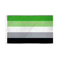 Aromantic Pride Flag 3' x 5' Polyester