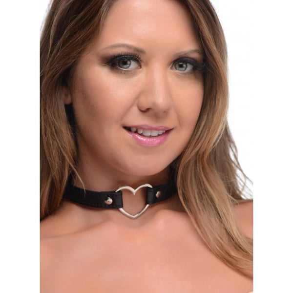 Dark Heart Chrome Heart Black Choker