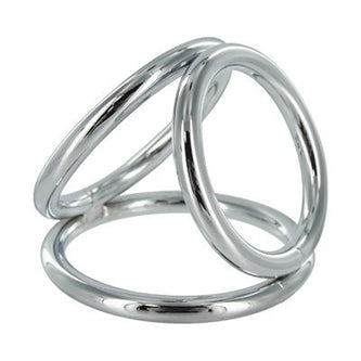 MS Triad Triple Cock Ring Lg 2""