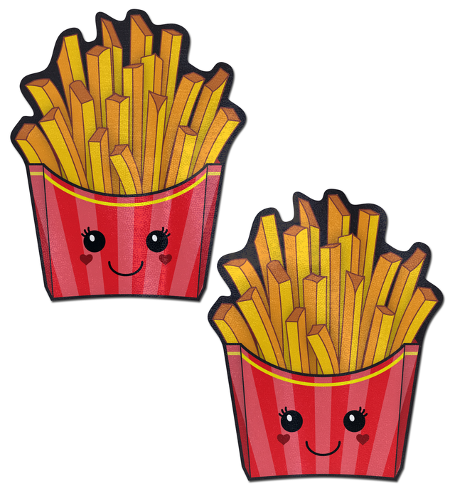 Happy Kawaii French Fries Pasties
