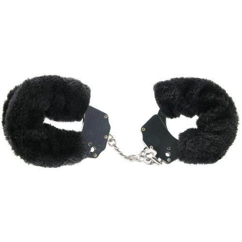 FF Original Furry Cuffs Black