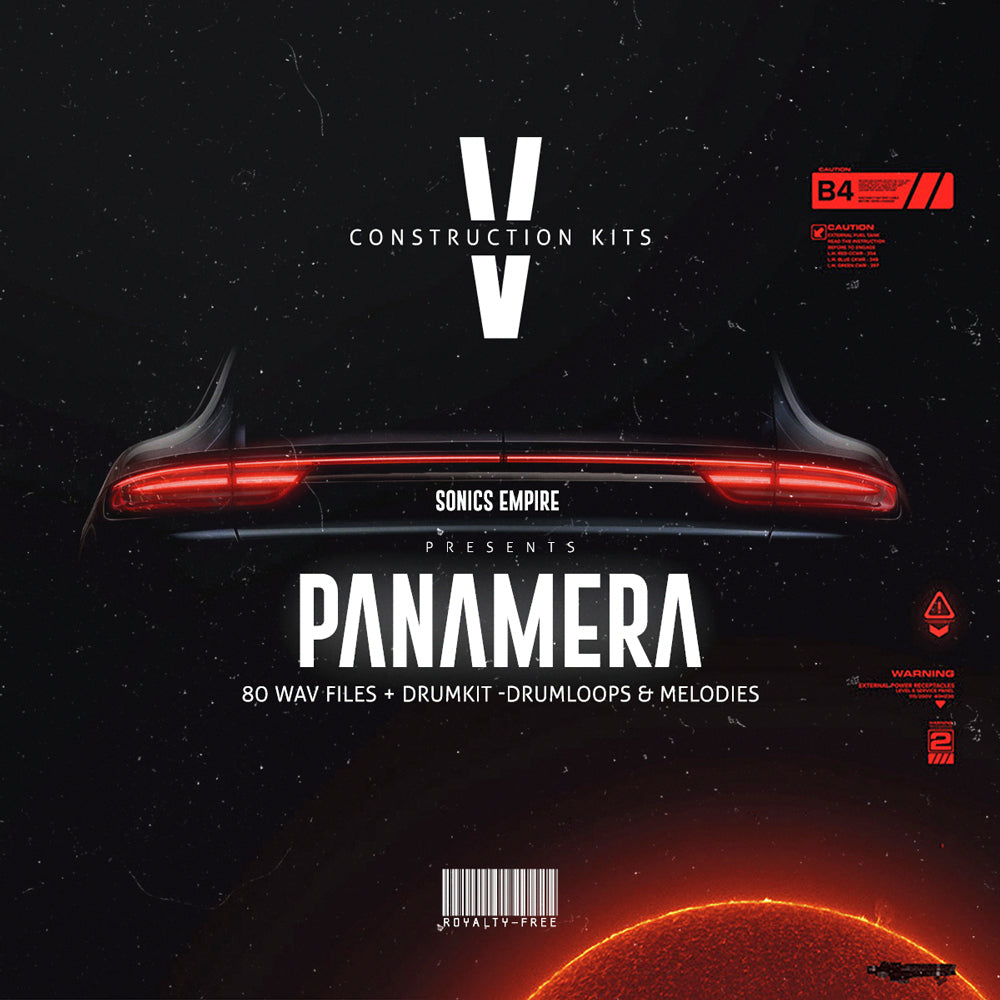 Panamera - Trap Construction Kit by Sonics Empire (Royalty Free)