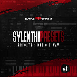 Sylenth1 Presets vol 1 by Sonics Empire (Royalty Free)