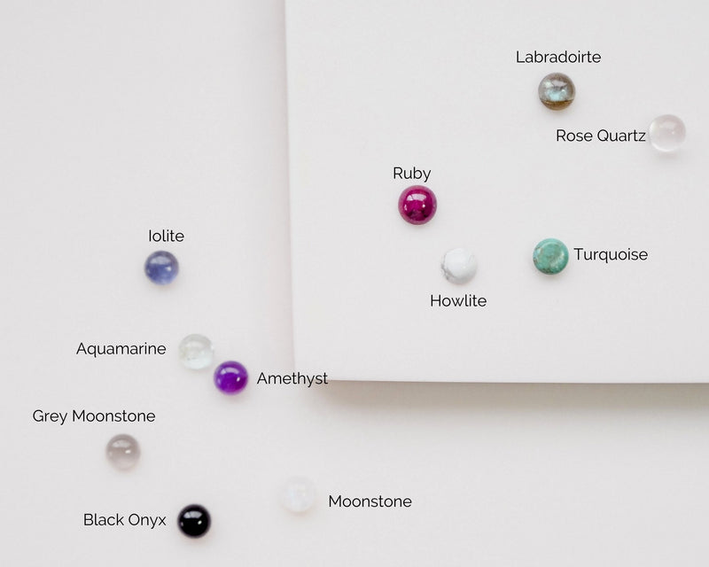 A look at all the gemstone options