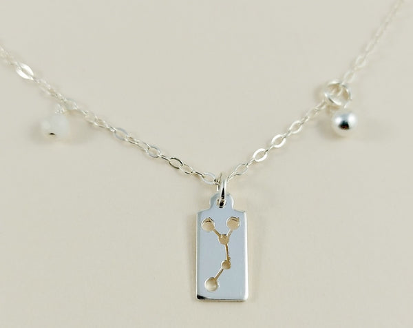 Cancer Silver Necklace
