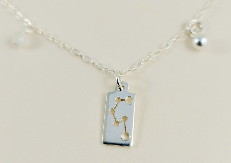 Libra Silver Necklace