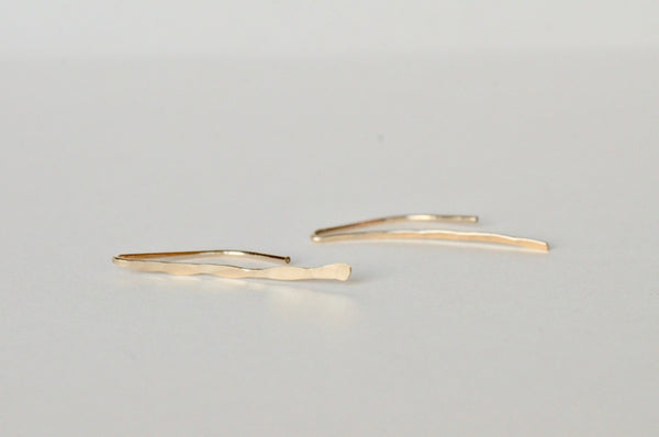 Gold Long Branch Earring