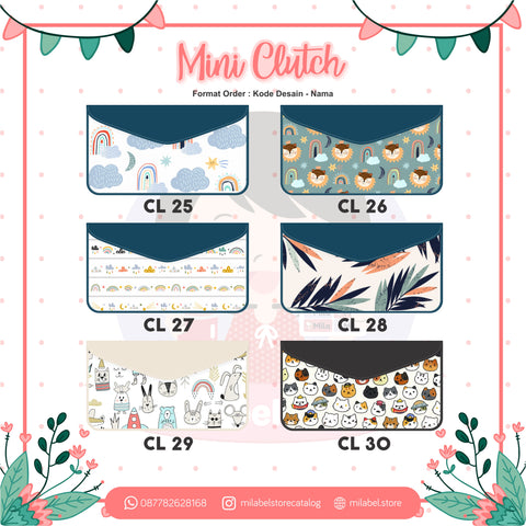 Mini Clutch Free Nama