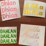 Stiker Cutting Hologram