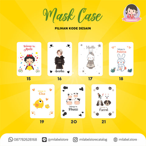 Mask Case Character
