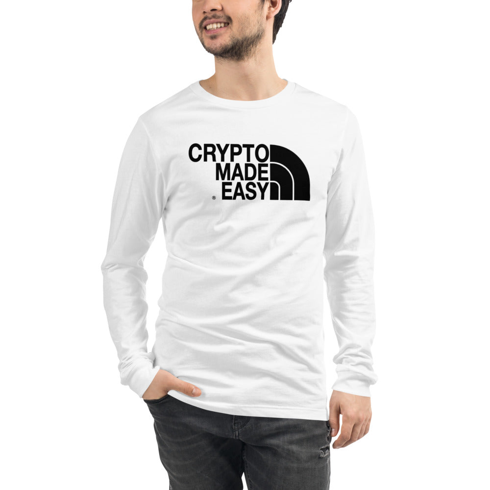 Crypto Made Easy Del Norte Unisex Long Sleeve Tee
